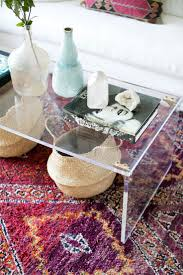 Styling A Round Coffee Table 17 Best Ideas About Lucite Coffee Tables On Pinterest Acrylic