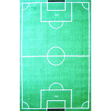 cowboys area rug football field soccer rugs city carpet shaped