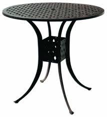 round cast aluminum outdoor furniture