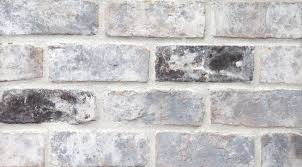 Grey Antique Q White Mortar Concave Technique - Old Texas Brick