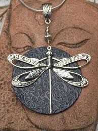 large dragonfly pendant silver dragonfly dragonfly necklace dragonfly jewelry unique wire wrapped