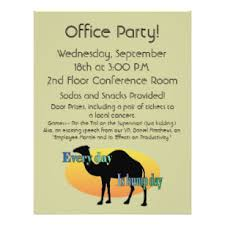 office party flyer office party flyers zazzle