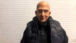 disturbing Jeff Bezos action figure ...