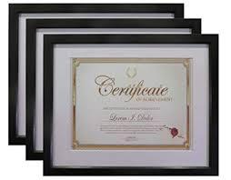 white certificate frame frame amo 11x14 black wood certificate frame white mat for 8 5x11 document 0 8 inch border 3 pack