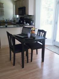 three piece dining set:  photo