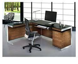 furniture office desks. Sequel Office Desk In Walnut And Black Furniture Dark Desks