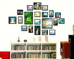 Picture Frame Collage Wall Ideas Liftechexpo Pertaining To Picture Frame  Collages For Wall Decorating