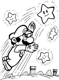 Coloriage Super Mario Coloriages Pour Enfants