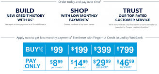 Fingerhut Top Buy Now And Pay Later Website Howtocrazy