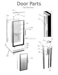 Shower Door Frame Replacement Parts – Bathroom Ideas