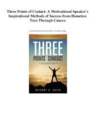 PDF] Download Three Points Of Contact A Motivational Speaker's Insp Amazing Inspirational Success Pics Download
