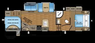 2017 jayco fifth wheel floor plans regarding 2017 eagle ht fifth wheels 295bhds floorplan rv living