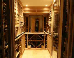 Small Space Wine Cellars by Papro Consulting transitional-wine-cellar