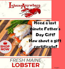 Lobster Gift Certificates