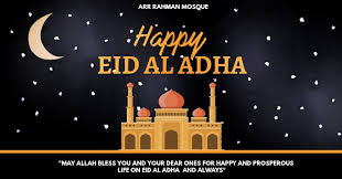 Schools in new york also close for. Happy Eid Al Adha Template Postermywall
