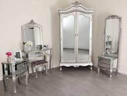 image great mirrored bedroom furniture. Image Is Loading Mirrored-Silver-French-Style-Mirror-Gold-Shabby-Chic- Great Mirrored Bedroom Furniture
