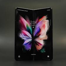 samsung s new foldable phones get big