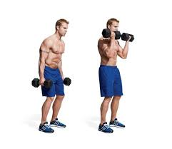 here s how it s done outside curls regular bicep