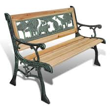 vidaXL <b>Children Garden Bench 84cm</b> Wood Sale, Price & Reviews ...