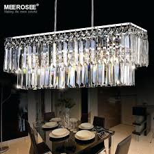 modern crystal chandelier for dining room modern chandelier crystal light fitting rectangle hanging lamp for dining