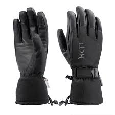 Thinsulate Rating Chart Details About 38 Waterproof Winter Ski Snowboard Pu Leather Thinsulate Gloves Mens Large
