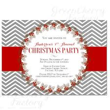 perfect christmas party invitation letter templates features party fair holiday party invitations response cards