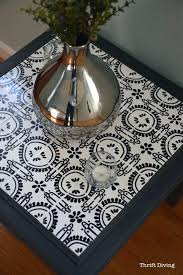 how to tile a table top thrift diving tables kitchen and chairs own ceramic tiles custom made tile top coffee table and end tables diy patio furniture