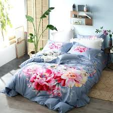 king size duvet cover watercolor flowers bedding set queen king size duvet covers bed sheets pillowcase