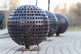 Decorative Metal Balls Decorative Metal Balls With Holes Stock Photo Picture And Royalty 35