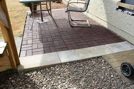 awesome paver patio floor ideas with arm chairs for outdoor patio ideas