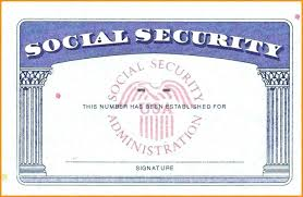 social security card template photo new blank social security with social security card template photo 10652