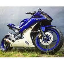 motor sport n murah yamaha r15 tahun 2016 bekas like new modifikasi jakarta