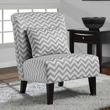 Living Room Accent Chair Anna Grey White Chevron Accent Chair By I Love Living Grey