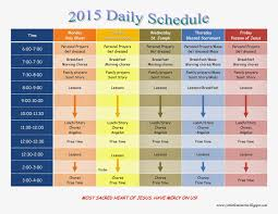 Daily Homeschool Schedule Template 27 Images Of Daily Homeschool Schedule Template Bfegy Com