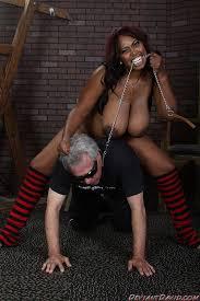 Busty ebony dominatrix 4