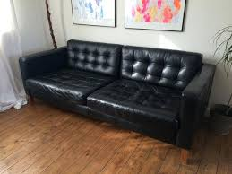 fascinating ikea black leather couch black leather sofa ikea black leather pull out couch