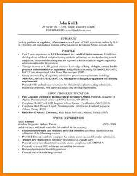 Regulatory Affairs Resume Sample Best Of Modern Regulatory Affairs Resume Adornment Examples Professional