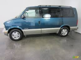 Medium Cadet Blue Metallic 2001 Chevrolet Astro LS Passenger Van ...