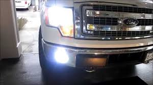 How To Install Hid Fog Lights H10 Ford F150 2014