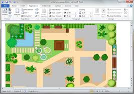 Small Picture Garden Design Templates for Word