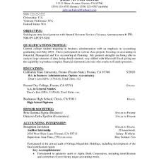 New Sample Entry Level Accounting Resume No Experience | Onda ...