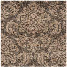 florida smoke beige 4 ft x 4 ft square area rug