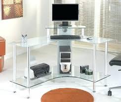 corner desk modern wonderful furniture nice l shape frosted office desk for modern inside frosted corner