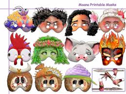Masks To Decorate Printable