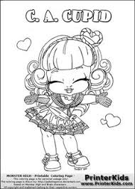 Small Picture Baby Monster High Coloring Pages Baby CA Cupid by