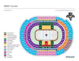 Florida Panthers Stadium Seating Chart Interactive Map Of Bank Of America Stadium