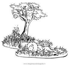 Disegno Safarisavana Animali Da Colorare