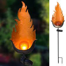 Orange Garden Lights Boaer Garden Solar Lights Stakes Outdoor Decorative