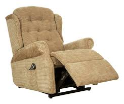 compact recliner chair. Woburn Compact Dual Motor Recliner Fabric Chair