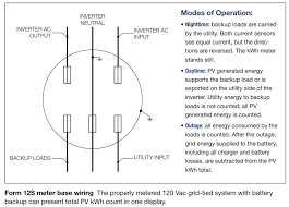 pv system wiring diagram images form 12s metering for grid tied systems battery backup